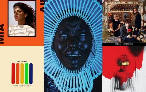 Amy's top ten albums of 2016