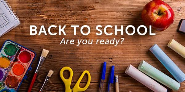 Getting geared up for school (and curing post-summer blues)