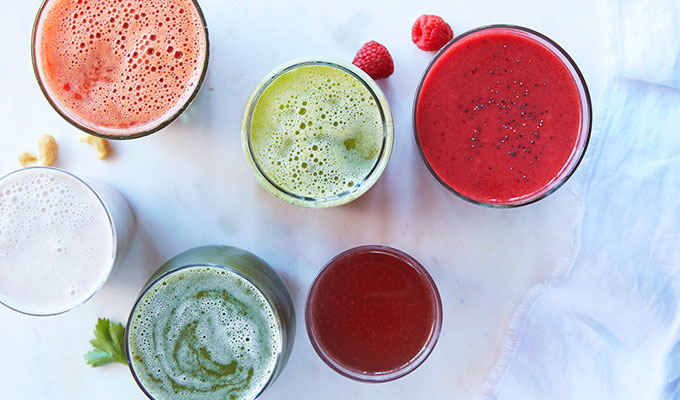 A one day juice cleanse