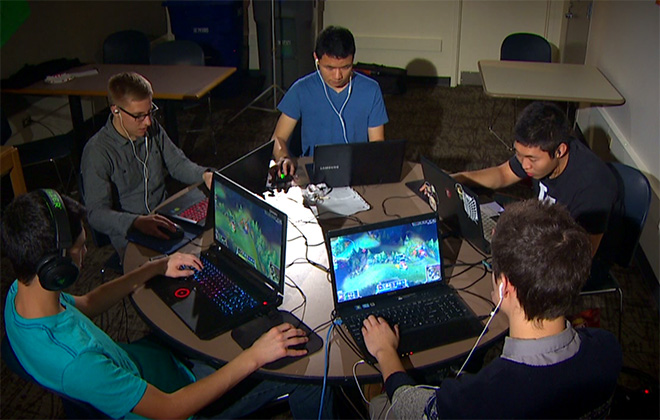 Blessing or Curse? Video Games in College